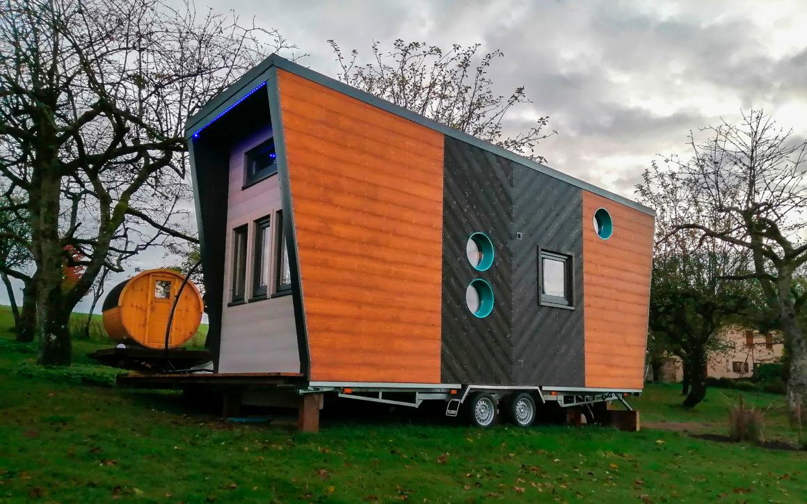 Tiny House Ô P'tit Nid d'Milie dans les Vosges